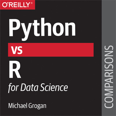 book cover: Python vs. R for data science