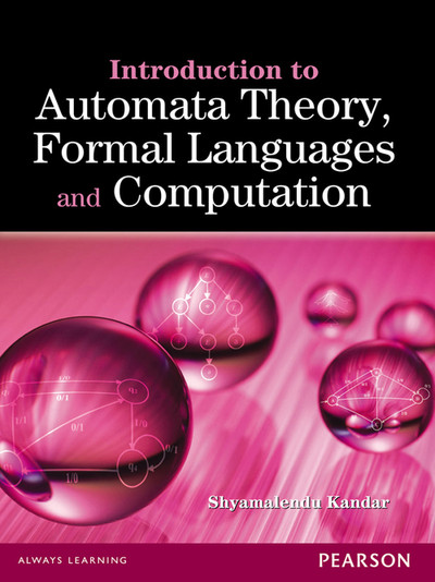 book cover:  Introduction to automata theory, formal languages and computation