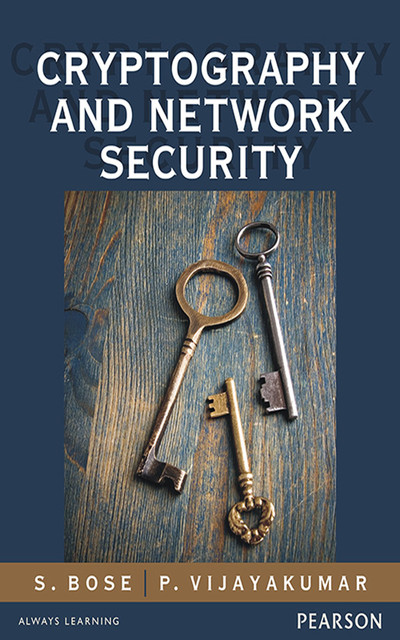 book cover: Cryptography and network security