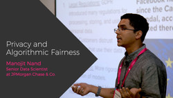 Privacy and Algorithmic Fairness