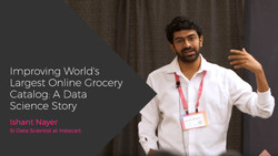 Improving the Worlds Largest Online Grocery Catalog: A Data Science Story
