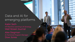 Data and AI for Emerging Platforms