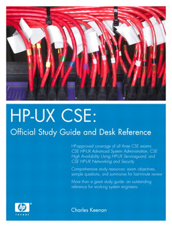HP-UX CSE Official Study Guide and Desk Reference