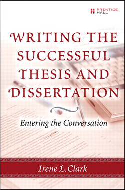 Writing the Successful Thesis and Dissertation: Entering the Conversation