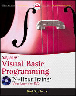 Stephens' Visual Basic® Programming 24-Hour Trainer