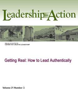 Getting Real: How to Lead Authentically