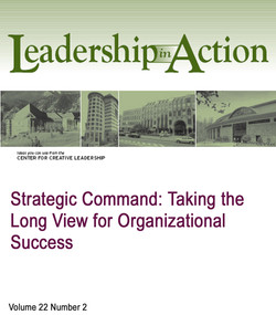 Strategic Command: Taking the Long View for Organizational Success