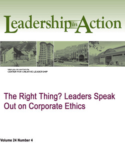 The Right Thing? Leaders Speak Out on Corporate Ethics