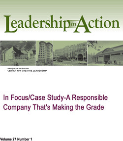 In Focus/Case Study-A Responsible Company That's Making the Grade
