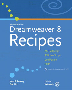 Macromedia® Dreamweaver® 8 Recipes