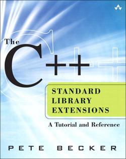 The C++ Standard Library Extensions A Tutorial and Reference