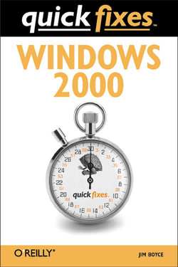 Windows 2000 Quick Fixes