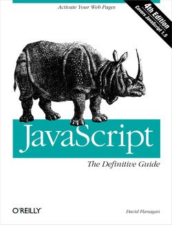 JavaScript: The Definitive Guide, Fourth Edition