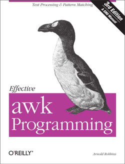 Effective awk Programming, 3rd Edition
