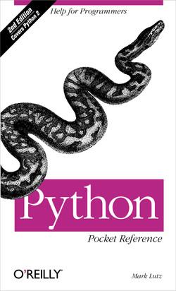 Python Pocket Reference, Second Edition