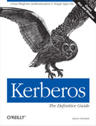 Cover of Kerberos: The Definitive Guide