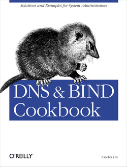 DNS & BIND Cookbook