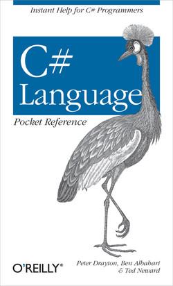 C# Language Pocket Reference