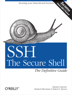 SSH, The Secure Shell: The Definitive Guide, 2nd Edition