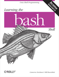 Learning the bash Shell, 3rd Edition