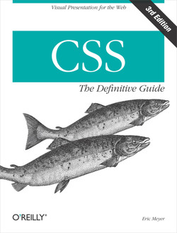 CSS: The Definitive Guide, 3rd Edition