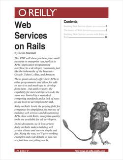 Web Services on Rails