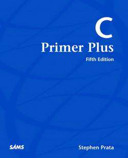 C Primer Plus, Fifth Edition