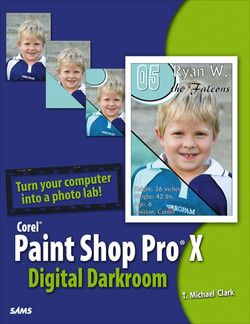 Corel Paint Shop Pro X Digital Darkroom