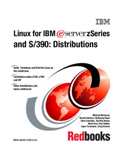 Linux for IBM eServer zSeries and S/390: Distributions