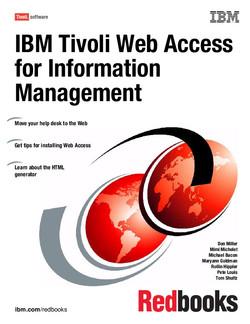 IBM Tivoli Web Access for Information Management