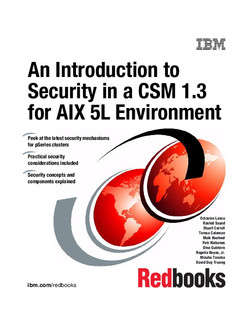 An Introduction to Security in a CSM 1.3 for AIX 5L Environment