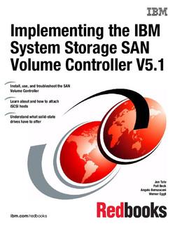 Implementing the IBM System Storage SAN Volume Controller V5.1