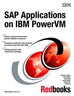 SAP Applications on IBM PowerVM