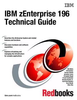 IBM zEnterprise 196 Technical Guide