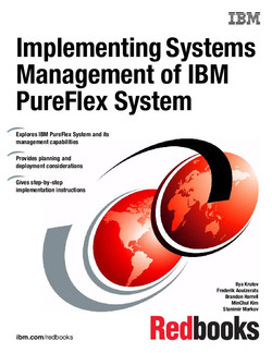 Implementing Systems Management of IBM PureFlex System