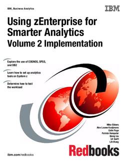 Using zEnterprise for Smart Analytics: Volume 2 Implementation