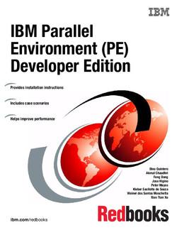 IBM Parallel Environment (PE) Developer Edition