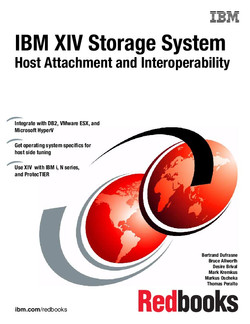 IBM XIV Storage System: Host Attachment and Interoperability