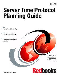 Server Time Protocol Planning Guide