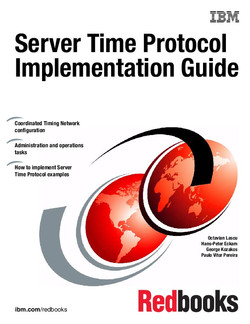 Server Time Protocol Implementation Guide