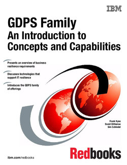 GDPS Family An Introduction to Concepts and Facilities