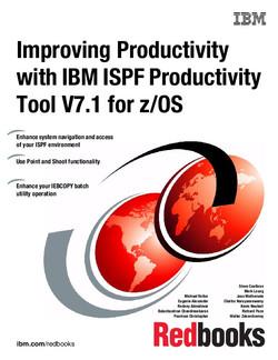 Improving Productivity with IBM ISPF Productivity Tool V7.1 for z/OS