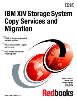 IBM XIV Storage System Copy Services and Migration