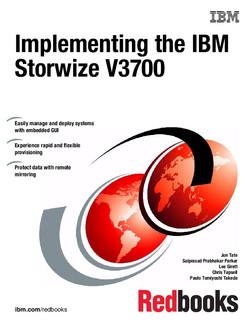 Implementing the IBM Storwize V3700