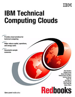 IBM Technical Computing Clouds