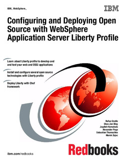 Configuring and Deploying Open Source with WebSphere Application Server Liberty Profile