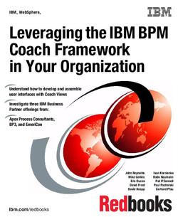 Leveraging the IBM BPM Coach Framework in Your Organization