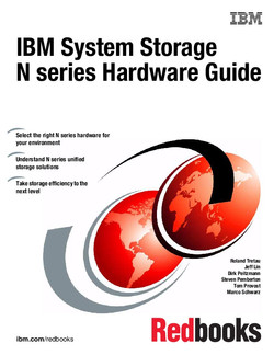 IBM System Storage N series Hardware Guide