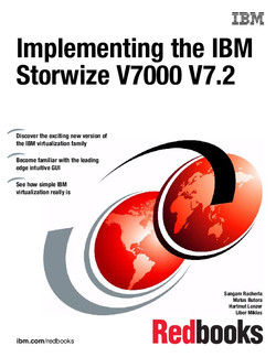Implementing the IBM Storwize V7000 V7.2