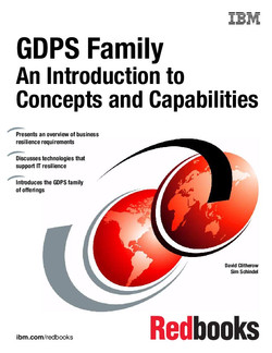 GDPS Family: An Introduction to Concepts and Capabilities